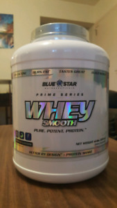 Unopened Blue Star Prime Series Whey Protein!