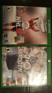 Selling 2 Xbox One Games in Great condition