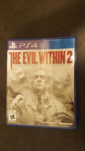 Evil Within 2 / Call of duty Black ops 3 - PS4