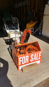 Snow Blower And John Deer Lawn tractor for Sale