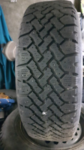 Winter tire with rims. Very good condition. Looks like a new