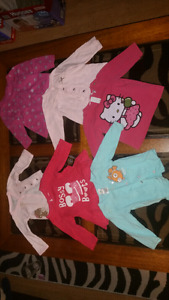 Girls long sleeve tops