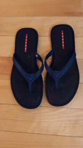 PRADA Men's Rubber Flip Flops