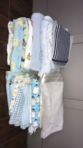 Baby blankets/fitted crib sheets.