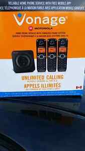 3 FREE phones with unlimited long distance calling!