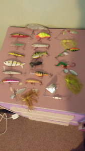 Fishing lures and spinners for sale