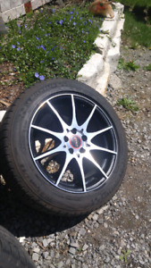 """Mags + tire 16"""" 5x100"""