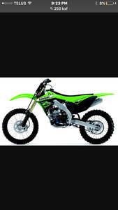Wanted: need a dirtbike delivered to sarnia! Have abit over 2gs