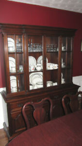 Gibbard mahogany dining room set