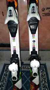 Atomic Affinity Unisex Downhill Skis and Head  Ski Boots Size 5