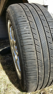 Michelin 205/55R16 91V Premier Tires with Alloy Rims