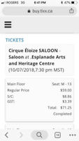Cirque Éloize SALOON - Saloon - Medicine Hat - October 7