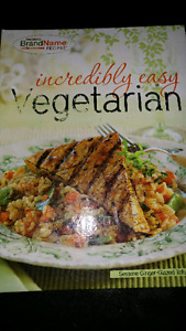 Vegetarian cooking book