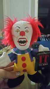 Penny wise Horror Plush doll from IT