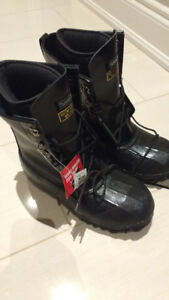 BRAND NEW Winter Snow INSULATED SERVUS STEEL TOE BOOTS Size 11