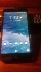 Unlocked  touch screen phone