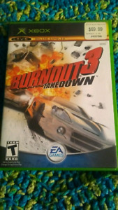 XBOX Original burnout 3 takedown