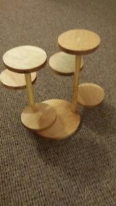 Rustic Plantholder with 6 tiers or use for Cupcake holder