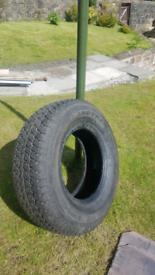 New Dunlop Grandtrek 265 65 16 tyre