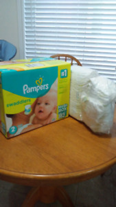 Over 220 Diapers size 2