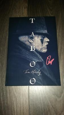 """TABOO PP SIGNED 12""""X8"""" A4 PHOTO POSTER TV SERIES TOM HARDY"""