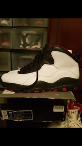Retro nike air Jordan 10 Chicago size 10.5