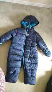 18 month snowsuit n snow pants. Brand new with tags from Carter' Cornwall Ontario image 1