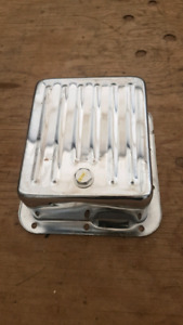 Ford c4 chrome trans pan