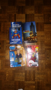 Lot of 4 action figures