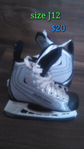 J8 and J12 hockey skates