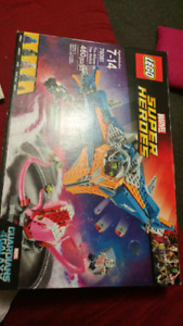 MARVEL SUPER HEROES LEGOS(THE MILANO VS.THE ABILISK)76081 NEW