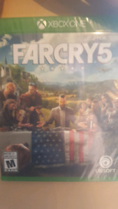 Farcry 5 Unopened Xbox One