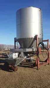 Complete Fertilizer (or grain) Blending System