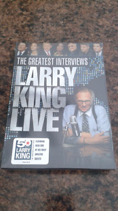 The Greatest Interviews Larry King Live . Never opened