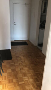 2 Beds 1 Bath Apartment available for the sublease