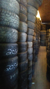 Excellent Used Snow Tires
