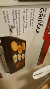Family Size griddle (sunbeam)