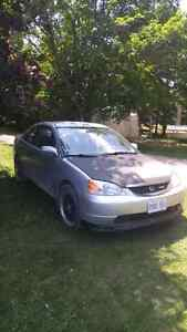 2001 honda civic selling for parts or for 1000.00