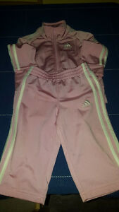 9 months Adidas pink outfit