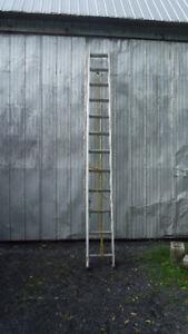 échelle aluminium