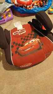 Cars theme booster seat
