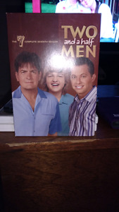 Two and a half Men season 7 dvds