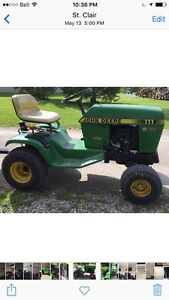 JOHN DEERE 111  Yard / Garden Tractor  Sarnia Sarnia Area image 5
