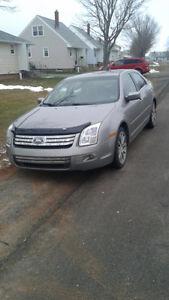 2009 Ford Fusion Grey Sedan