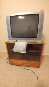 TV (and cabinet) - $25 (and $30).