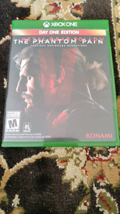 Metal gear solid the phantom pain(xbox one)