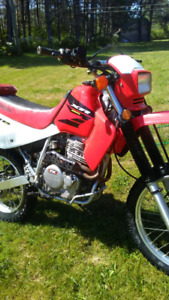 Two Honda XR650L's