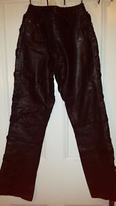 Ladies Genuine Soft Leather pants