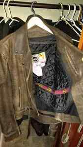 Beautiful Leather Motorcycle Jacket Sarnia Sarnia Area image 2