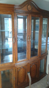 FREE TWO PEICE CHINA CABINET